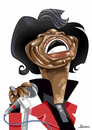 Cartoon: James Brown (small) by Ulisses-araujo tagged james,brown,funk