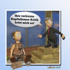 Cartoon: Verkürzte Kapitalismuskritik (small) by uruc-art tagged lustig,satire,kapitalismus,politik,neu,3d,blender