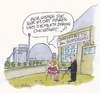 Cartoon: Zum Supergau (small) by Peter Gatsby tagged supergau