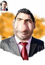 Cartoon: Ali Sdiq (small) by handren khoshnaw tagged handren,khoshnaw,ali,sdiq