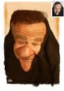 Cartoon: Robin Williams (small) by handren khoshnaw tagged handren khoshanw