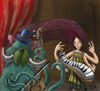 Cartoon: musicos (small) by ernesto guerrero tagged music,monsters,art,digital
