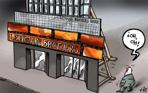 Lehman Brothers Bank bankrupt