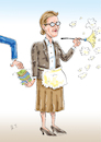 Cartoon: Alice Weidel (small) by astaltoons tagged weidel,afd