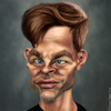 Cartoon: Chris Pine (small) by BehnamParan tagged chrispine,actor