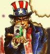 Cartoon: take it (small) by ab tagged ttip,usa,uncle,sam