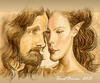 Cartoon: Elven Love (small) by ionutbucur tagged caricature