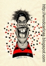 Cartoon: Ronaldinho Gaucho (small) by WROD tagged ronaldinho,gaucho