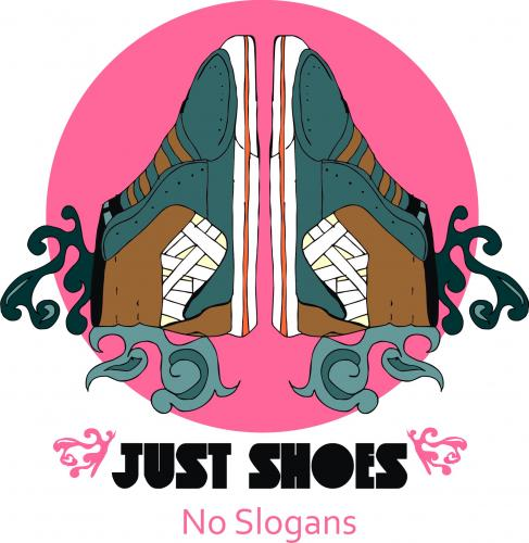 Cartoon: just shoes no slogans (medium) by andres fv tagged shoes