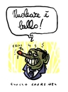 Cartoon: ProNuke (small) by Giulio Laurenzi tagged pronuke