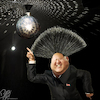 Cartoon: Disco Inferno (small) by Bart van Leeuwen tagged kim,jong,un,north,korea,nuclear,disco,inferno