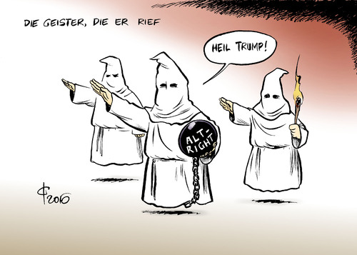 Cartoon: Weißes Amerika (medium) by Paolo Calleri tagged usa,praesidentschaft,wahlen,sieger,donald,trump,unternehmer,republikaner,konservative,bewegung,alt,right,rassisten,weisse,nationalsiten,ku,klux,klan,wahlkampf,rethorik,weltbild,karikatur,cartoon,paolo,calleri,usa,praesidentschaft,wahlen,sieger,donald,trump,unternehmer,republikaner,konservative,bewegung,alt,right,rassisten,weisse,nationalsiten,ku,klux,klan,wahlkampf,rethorik,weltbild,karikatur,cartoon,paolo,calleri