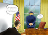 Cartoon: Sicherheitsvorkehrung (small) by Paolo Calleri tagged usa,praesident,donald,trump,wahlen,wahlkampf,corona,virus,coronavirus,covid,19,gesundheit,washington,karikatur,cartoon,paolo,calleri