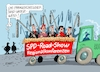 Cartoon: On the Road again (small) by RABE tagged landtagswahlen,wahlergebnisse,sachsen,brandenburg,groko,spd,cdu,rabe,ralf,böhme,cartoon,karikatur,pressezeichnung,farbcartoon,tagescartoon,arzt,doktor,csu,afd,verluste,rechte,populismus,spitzenkandidaten,parteispitze,doppelspitze,parteiführung,olaf,scholz,nahles,regionalkonferenzen,abstimmung,mitglieder,roadshow