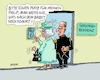 Cartoon: Philip Rückzug (small) by RABE tagged philip,queen,elisabeth,buckingham,palast,london,england,öffentlichkeit,gemahl,ehegatte,rabe,ralf,böhme,cartoon,karikatur,pressezeichnung,farbcartoon,tagescartoon,seniorenheim,seniorenresidenz,brexit,may,eu,austritt