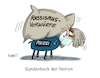 Cartoon: Sündenbock (small) by RABE tagged rassismus,rassismusvorwürfe,usa,mord,polizeigewalt,trump,demo,rabe,ralf,böhme,cartoon,karikatur,pressezeichnung,farbcartoon,tagescartoon,sünde,sündenbock,polizeigewerkschaft,vorwürfe,floyd,washington,protestwelle