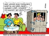 Cartoon: Warnschussarrest (small) by RABE tagged warnschussarrest,warnschuss,justiz,jugendliche,justizminister,rechtsanwalt,strafe,gefängnis,rabe,ralf,böhme,cartoon,karikatur,pressezeichnung,tagescartoon,straftat,täter,verbrecher,bestrafung,knast