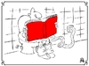 Cartoon: Book (small) by izidro tagged book