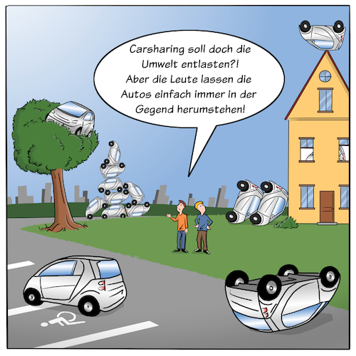 Cartoon: Carsharing (medium) by CloudScience tagged carsharing,auto,automobil,umwelt,smart,city,verkehr,mobil,mobilitaet,zukunft,car,digitalisierung,digital,infrastruktur,tech,technologie,shareconomy,sharing,teilen,umweltverschmutzung,it,technik,wandel,mobility,disruption,transformation,mieten,free,floating,carsharing,auto,automobil,umwelt,smart,city,verkehr,mobil,mobilitaet,zukunft,car,digitalisierung,digital,infrastruktur,tech,technologie,shareconomy,sharing,teilen,umweltverschmutzung,it,technik,wandel,mobility,disruption,transformation,mieten,free,floating
