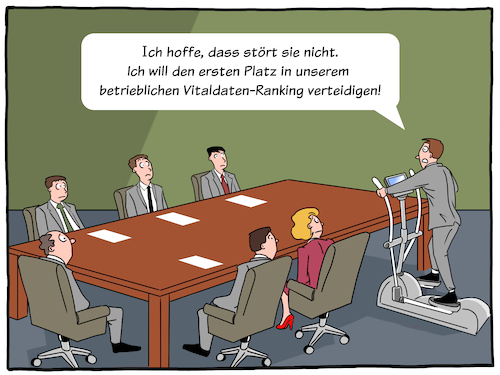 Cartoon: eHealth (medium) by CloudScience tagged ehealth,gesundheit,gesundheitsmanagement,daten,tracker,tracking,vitaldaten,ueberwachung,ranking,gamification,leistung,bewertung,wettbewerb,meeting,digitalisierung,digital,innovation,versicherung,insurence,it,technologie,wearable,app,tech,technik,zukunft,cartoon,moeller,illustration,disruption,wandel,unternehmen,business,ehealth,gesundheit,gesundheitsmanagement,daten,tracker,tracking,vitaldaten,ueberwachung,ranking,gamification,leistung,bewertung,wettbewerb,meeting,digitalisierung,digital,innovation,versicherung,insurence,it,technologie,wearable,app,tech,technik,zukunft,cartoon,moeller,illustration,disruption,wandel,unternehmen,business