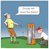 Cartoon: Golf Zukunft (small) by CloudScience tagged golf,3d,drucker,drucken,sport,cartoon,digtalisierung,digital,technik,tech,technologie,moeller,illustration,zukunft,disruption,transformation,golfplatz