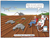 Cartoon: Precision Farming (small) by CloudScience tagged precision,farming,smart,landwirtschaft,bauer,farmer,ackerbau,acker,boden,feld,bewirtschaftung,roboter,robotik,intelligent,digitalisierung,digital,kuh,drohne,maehdrescher,it,daten,algorithmen,cloud,produktivitaet,technik,technologie,maschinen,effizient,melken,disruption,transformation,steuerung,gesteuert,vernetzt,vernetzung,cartoon,illustration,moeller