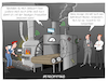 Cartoon: Retrofitting (small) by CloudScience tagged retrofit,industrie,iot,internet,der,dinge,vernetzung,smart,factory,intelligenz,ki,ai,sensoren,wirtschaft,produktion,fertigung,fabrik,anlage,digitalisierung,digital,aufruesten,investition,innovation,disruption,technologie,tech,daten,vernetzt,buzzword,computer,technik