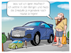 Cartoon: SUV (small) by CloudScience tagged suv,suvs,auto,iaa,iaa19,automobil,innenstadt,riese,mobilitaet,umwelt,stadttpanzer,cartoon,fahrzeug,groesse,gross,stadt,verkehr