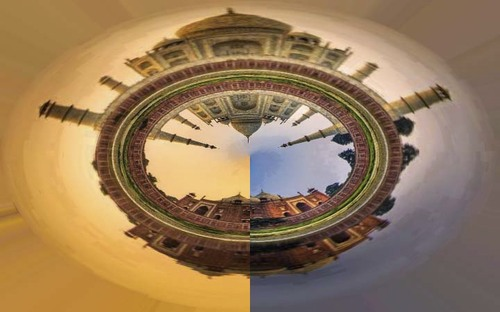 Cartoon: itz a effect of photoshop (medium) by anupama tagged panorama,effect
