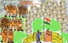 Cartoon: Independence day (small) by anupama tagged independence,day