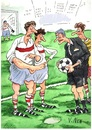 Cartoon: football (small) by Vladimir Nen tagged foot,football,game,the,referee,penalty,fine,championship,winning,hand