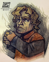 Cartoon: The Little Lion Man (small) by ketsuotategami tagged game,of,thrones,tyrion,lannister,hbo,fantasy,epic