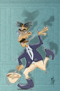 Cartoon: Hello - I must be going (small) by stip tagged groucho marx brothers animal crackers julius