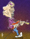 Cartoon: Mark Knopfler (small) by stip tagged mark,knopfler,dire,straits,rock,guitar