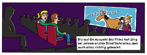 Cartoon: Schoolpeppers 15 (medium) by Schoolpeppers tagged beziehung,bind,date,liebe