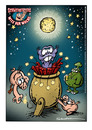 Cartoon: Schweinevogel Witz der Woche 060 (small) by Schweinevogel tagged happy,new,year,neujahr,swampie,iron,doof,schweinevogel,sid,schwarwel,witz,cartoon,raketen,2011,silvester