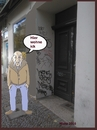 Cartoon: At Home (small) by michaskarikaturen tagged collage,berlin