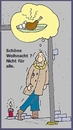 Cartoon: Frohe Weihnacht (small) by michaskarikaturen tagged harz4