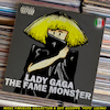 Cartoon: Lady Gaga - The Fame Monster (small) by Peps tagged lady,gaga,the,fame,monster