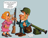 Cartoon: Arm the teachers! (small) by Ludus tagged school