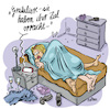 Cartoon: Smart Generation (small) by REIBEL tagged beziehung,sex,smartphone,siri,navigation,peinlich,bett,schlafzimmer,onenightstand