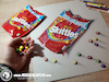 Cartoon: Drawing Skittles - 3D Art (small) by Art by Mihai Alin Ion tagged drawing,painting,illustration,3dart,realistic,skittles,mihaialinion,productdesign