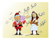 Cartoon: ERNTOGAN  santa claus (small) by vasilis dagres tagged erntogan,nato,european,union,greece,turkey