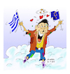 Cartoon: European elections in Greece. (small) by vasilis dagres tagged greece,european,elections