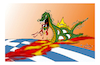 Cartoon: GREECE SKOPIA BBC (small) by vasilis dagres tagged greece,skopia,europe