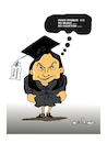 Cartoon: Greek Minister of Education (small) by vasilis dagres tagged greece,europe,education