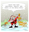 Cartoon: HAPPY NEW YEAR. (small) by vasilis dagres tagged new,year
