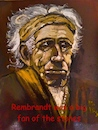 Cartoon: Rolling Stones on tour 2018 (small) by higi tagged stones rolling keith richards keithrichards rembrandt satire nofilter stonestour