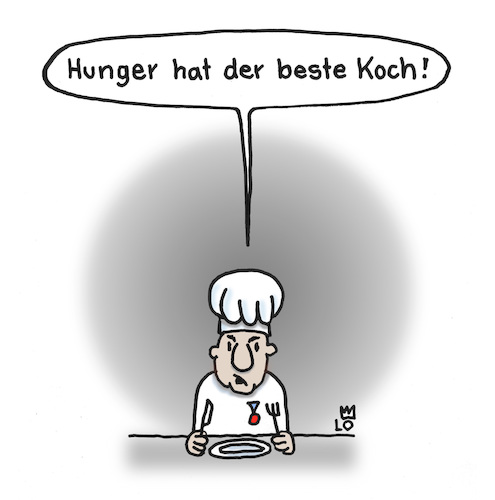 Cartoon: Hunger (medium) by Lo Graf von Blickensdorf tagged koch,küche,nouvelle,cuisine,hunger,deutsche,kochen,chefkoch,sternerestaurant,restaurant,karikatur,cartoon,lo,menü,menue,speisekarte,koch,küche,nouvelle,cuisine,hunger,deutsche,kochen,chefkoch,sternerestaurant,restaurant,karikatur,cartoon,lo,menü,menue,speisekarte