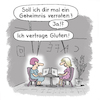 Cartoon: Geheimnis (small) by Lo Graf von Blickensdorf tagged glutenfrei,gluten,cartoon,lactose,prenzlauer,berg,lattemacciatomütter,cafe,laptop,notebook,gesundheit,mode,frauen,studentin,internetcafe,lactoseintoleranz